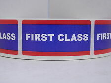 FIRST CLASS USPS Stickers Labels Mailing Shipping(500/rl)