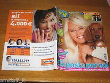 TV SORRISI E CANZONI=2005/39=MARIA DE FILIPPI=SIMONA VENTURA=FILM GRANDE TORINO