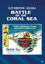 BATTLE OF THE CORAL SEA (1959 Cliff Robertson)  Region Free DVD - Sealed