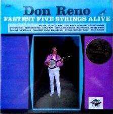 DON RENO - FASTEST FIVE STRINGS ALIVE - STARDAY / GUSTO - SEALED LP