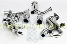 Stainless Steel Long Tube Exhaust Headers Manifold & Y Pipe Kit Chevy/GMC Truck