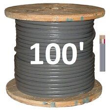 6/3 UF (100') (Underground Feeder / Direct Burial), Copper, 4 Wire/Cable