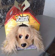 2004 Mattel Pound Puppies Plush Dog Stuffed Animal #Cuccioli Cerca Famiglia