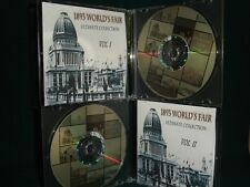 1893 Chicago Worlds Fair, Columbian Exposition-Vintage Books, Maps, Photographs