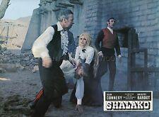 BRIGITTE BARDOT SHALAKO 1968 VINTAGE LOBBY CARD #3