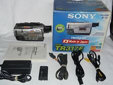 Sony PAL CCD-TR317E PAL Video8 HI8 8mm Camcorder VCR Player Video Transfer