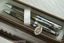 Cross Torero Genuine Italian Diamondback Leather Rollerball  & BallPoint Pens