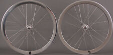 New H + Plus Son Formation Face Rims Track Wheels Formula Hubs Polished Silver