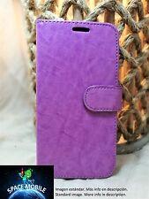 Funda Tapa Libro (Case Cover) Huawei Ascend P8 LITE [Purpura / Purple]