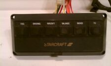 Vintage Starcraft Conversion-Custom Van 12V 6 Switch Control Panel