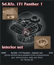 CMK 1/35 Sd.Kfz.171 Pz.Kpfw.V Panther Ausf.G Interior Set (for Tamiya kit) 3030