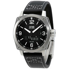 Oris BC4 Retrograde Day Automatic Black Dial Mens Watch 735-7617-4164LS
