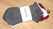 CALVIN KLEIN LADIES ECO ETHICAL BAMBOO FIBRE SOCKS 3 PAIRS RRP £14 UK 4-7