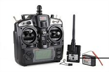 Flysky 2.4G TH9X 9CH RC Radio System Helicopter Airplane Transmitter Receiver