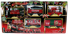 2010 Eztec 33 Piece G Scale Santa Express Christmas Holiday Train Set OB