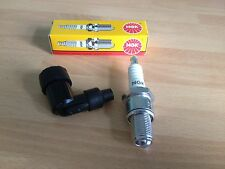 NORTON MODEL 40 350cc MODEL 30 499cc OHV NGK SPARK PLUG AND CAP FREE POST!