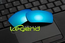 E24 ICE BLUE ETCHED POLARIZED Replacement Legend Lenses For Oakley GASCAN