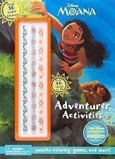 Disney Moana Adventurer Activities by Parragon Books Ltd (2016, Paperback)