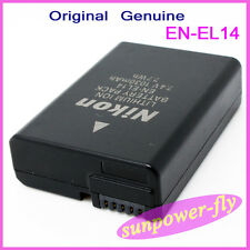 Genuine Original Nikon EN-EL14 Battery For D3100 D3200 P7000 P7100 P7700 MH-24