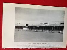 m3c ephemera 1953 picture the grandstand at Warwick royal pageant