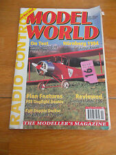 RADIO CONTROL MODEL WORLD MAGAZINE APR 1994 ZENOAH QUARTZ G-38 AIRCOBRA COMBAT