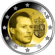 Luxemburg  2010  2 euro commemo    Groothertog Henri Armoire  UNC uit de rol !!!