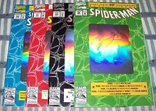 Amazing Spider-Man Giant-Size 30th Anniversary Set 4 Hologram Cover Comics 1992