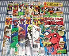 MARVEL TALES Lot of 13 Comics from #122 to #134 all Mark Jewelers Spider-Man