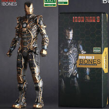 Iron Man 3 Tony Stark Mark 41 XLI Bones Action Figure Crazy Toy Fans Collection