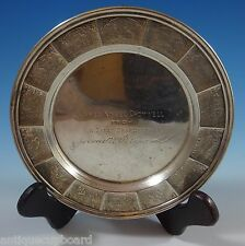 GORHAM STERLING SILVER CHILD'S PLATE WITH NURSERY RHYME MOTIF #5240 (#1186)