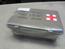 Military First Aid Kit Box General Purpose Water Tight OD GREEN Hard Plastic