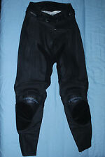 Women's Teknic Leather Motorcycle Pants size 8