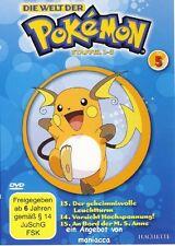 DIE WELT DER POKEMON 5 | 1. Staffel / 13-15 |  DVD #ZZ | Pokémon
