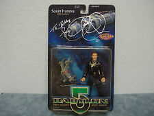 BABYLON 5 - SUSAN IVANOVA WITH STARFURY SIGNED BY CLAUDIA CHRISTIAN C.O.A.