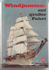 Windjammer auf großer Fahrt-v. F. Brustat-Naval-sehr gut- geb, Fischer V. 1973