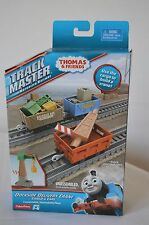 THOMAS & FRIENDS TRACK MASTER DOCKSIDE DELIVERY CRANE CARGO SET * NIB *FREE SHIP