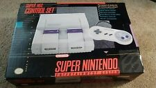 SUPER NINTENDO/SNES SYSTEM - CONSOLE NEW NEVER USED