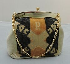 Vintage Roberta Di Camerino Velvet Handbag