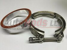 Garrett GT42 turbo compressor housing outlet flange and clamp aluminum GT45 GT47
