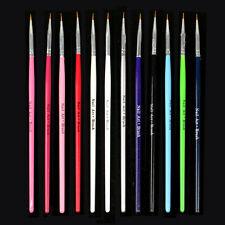 Womens Fashion Nail Art Design Brush Pen Fine Details Tips Drawing Paint Set HOT