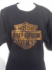 BUD'S Harley Davidson of Evansville IN 2 sided black t shirt sz 2XL XXL