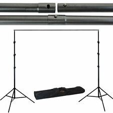 9x10 Adjustable Background Support Stand Kit Photo Backdrop Crossbar Photography