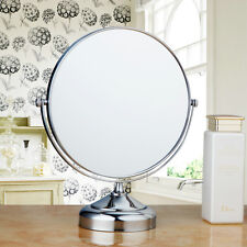 Beauty Makeup Cosmetic Mirror & Double-Sided Normal and Magnifying Stand Mirror