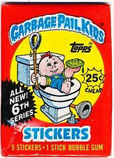 Topps GARBAGE PAIL KIDS Series 6 Unopened Wax Pack (1986)