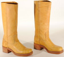Frye Womens Campus 14L Leather Boots #77050 Size 6 M Banana USA $298  Box #50