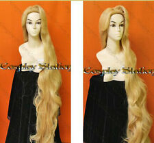 Rapunzel Custom Styled Wig 150cm Resistance High-temperature Mixed Gold wig