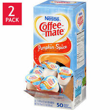 Nestle Coffee-Mate Pumpkin Spice 100ct Liquid Creamer (2-50ct)