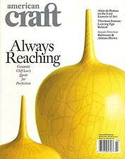 AMERICAN CRAFT February/March 2015 Cliff Lee Alain de Botton Art Therman Statom