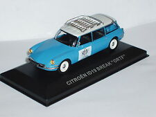 Citroen ID19 Break / DS19 Estate in Blue / White 1/43rd Scale