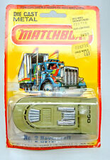 Matchbox No.2C Rescue Hovercraft avocado & black chrom turbines mint/boxed